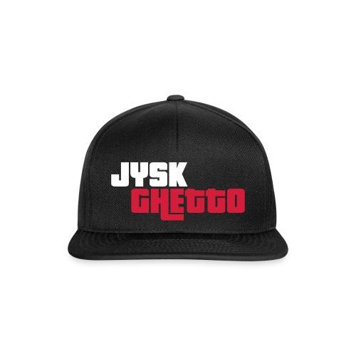 Jysk Kasketto 2.0 (Rødt og hvidt logo - Snapback Cap