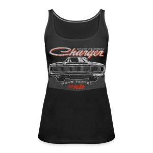 Charger - Women's Premium Tank Top