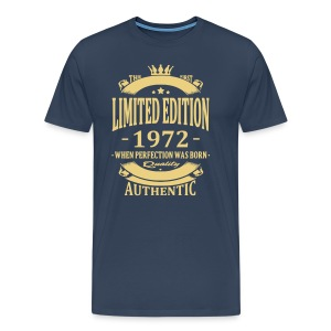 Limited Edition 1972 T-shirts - Mannen Premium T-shirt