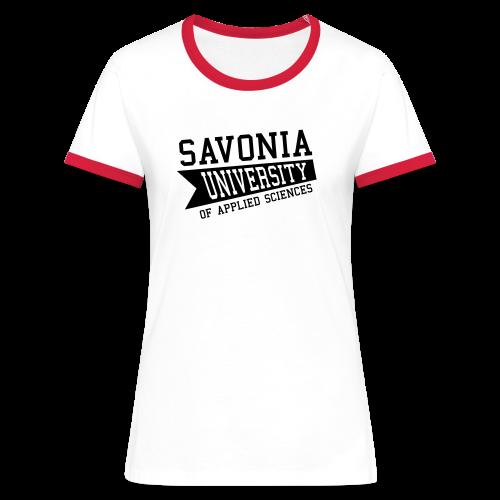 Naisten t-paita - Naisten kontrastipaita