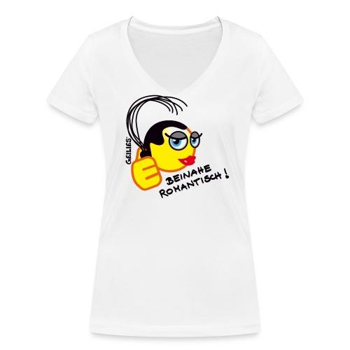Beinahe Romantisch - Frauen Bio-T-Shirt mit V-Ausschnitt von Stanley & Stella