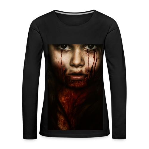 Bloody - Frauen Premium Langarmshirt