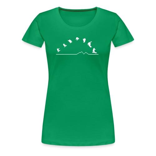 Sequences Girls Top  (Green) - Women's Premium T-Shirt