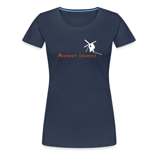 Aspect Ski Girls Top (Navy)