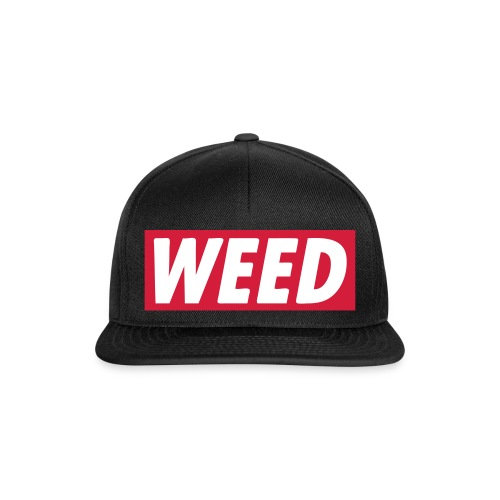 Casquette Weed - Casquette snapback