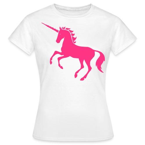Vrouwen t-shirt met een plaatje - Vrouwen T-shirt