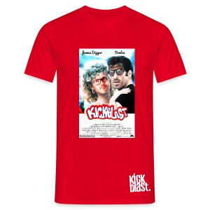 KickShirt Grease Homme - Rouge - T-shirt Homme