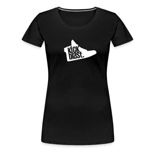 KickShirt Femme - Noir - T-shirt Premium Femme