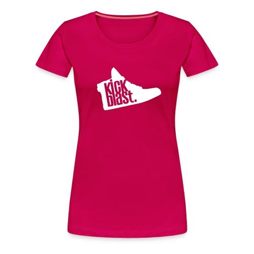 KickShirt Femme Rose - T-shirt Premium Femme