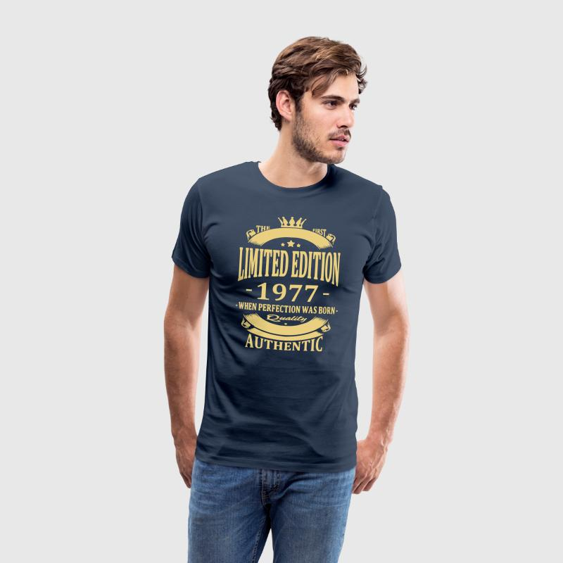 Limited Edition 1977 T-shirts - Mannen Premium T-shirt