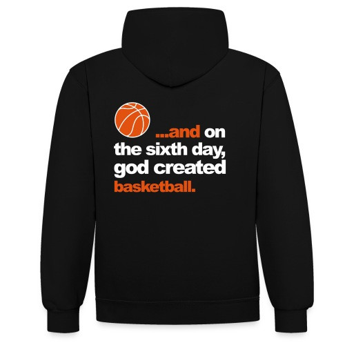 Religious Ballers - Contrast Colour Hoodie
