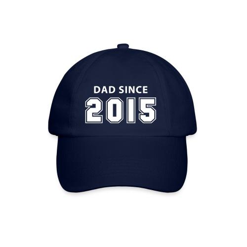 dad since 2015 - daddy design Caps & Mützen - Baseballkappe