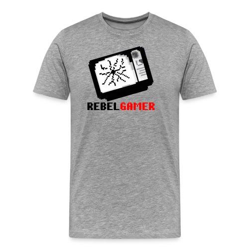 RebelGamer Retro TV T-Shirt - Männer Premium T-Shirt