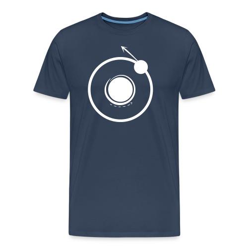 Logo vellutato - Maglietta Premium da uomo