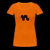 T-Shirts ~ Women's Premium T-Shirt ~ Women's Tee - Black Logo - Numb