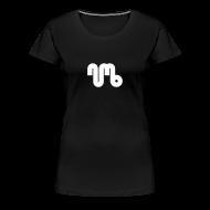 T-Shirts ~ Women's Premium T-Shirt ~ Women's Tee - White Logo - Numb