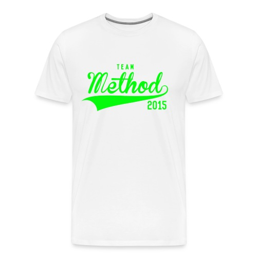 Method 2015 v2 (Green) - Men's Premium T-Shirt