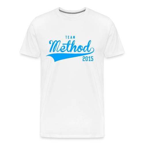 Method 2015 v2 (Blue) - Men's Premium T-Shirt