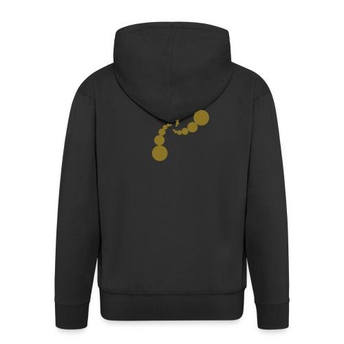wormhole gold - Men's Premium Hooded Jacket