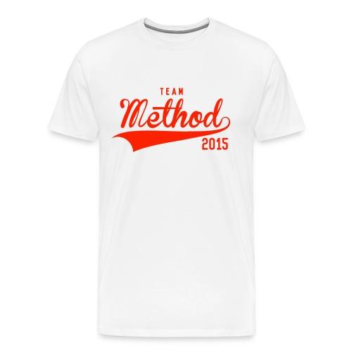 Method 2015 v2 (Red) - Men's Premium T-Shirt