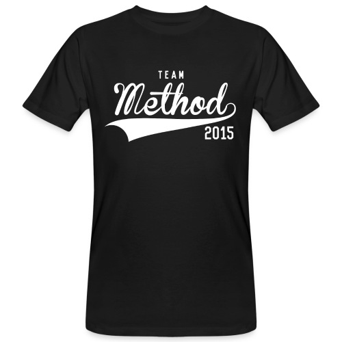 Method 2015 v2 Black Tee - Men's Organic T-Shirt