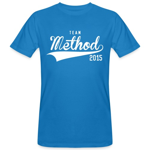 Method 2015 v2 Blue Tee  - Men's Organic T-Shirt