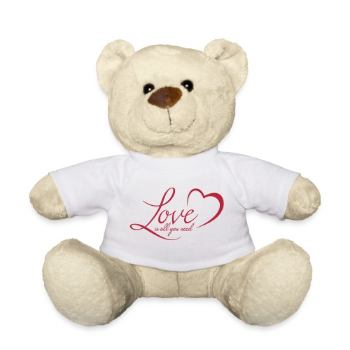 Love – Liebe – Teddybär Geschenk (dh) - Teddy