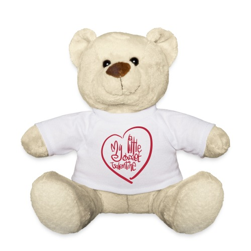 My little sweet Valentine – Teddybär Geschenk (dh) - Teddy