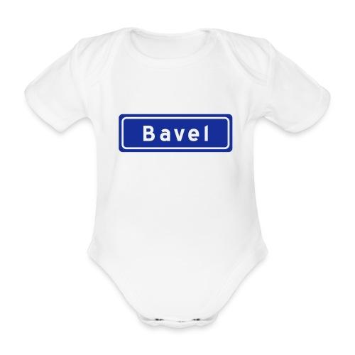 Plaatsnaambord Bavel (baby) - Baby bio-rompertje met korte mouwen