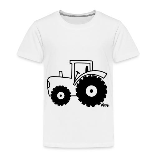 camisa niño estampado de tractor - Camiseta premium niño