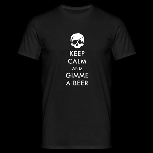 ..gimme a beer ~ - Männer T-Shirt