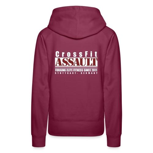 CrossFit Assault Damen Hoodie - Frauen Premium Hoodie