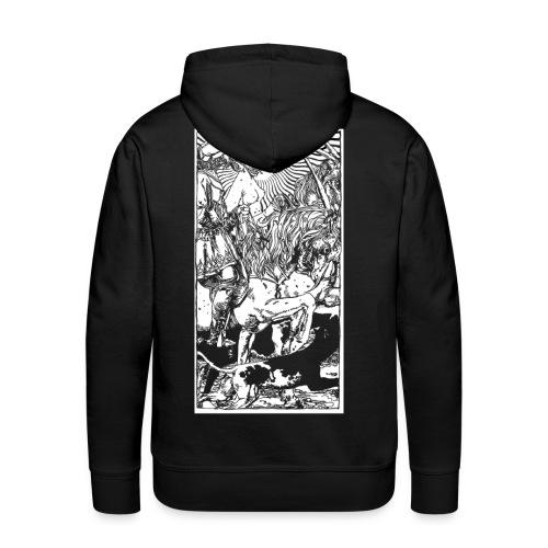 Bestiaire - Sweat-shirt à capuche Premium pour hommes