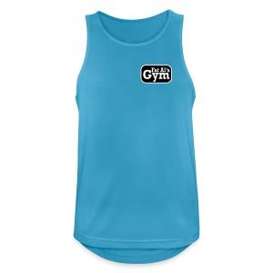 Gym vest large logo - Men's Breathable Tank Top