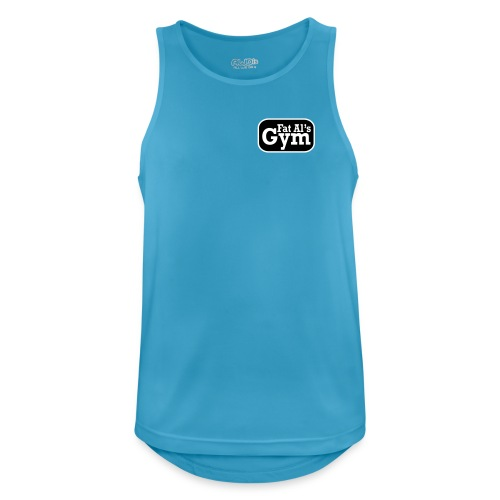 Gym vest large logo - Men's Breathable Tank Top