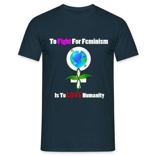 Global Feminism White - Men's T-Shirt