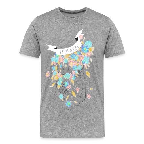 A fleur de peau (T-shirt Homme) - T-shirt Premium Homme