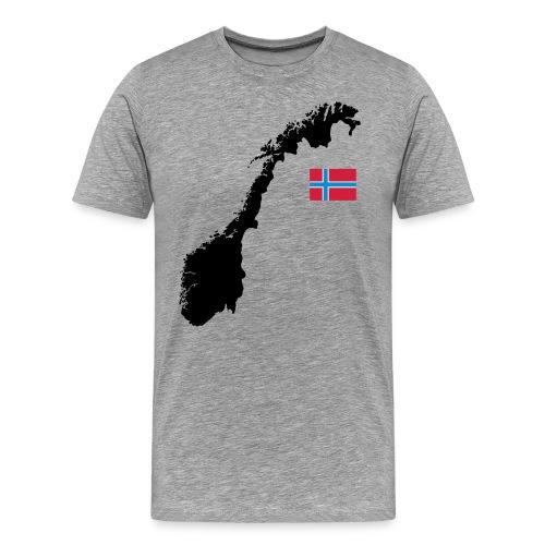 Norwegen - Männer Premium T-Shirt