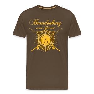 Brandenburg – mein Revier! - Männer Premium T-Shirt