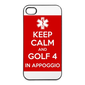 cover 4s Golf 4 - Custodia rigida per iPhone 4/4s