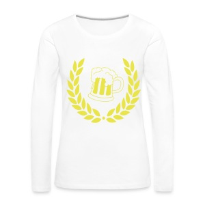COLLEGE QUEEN - Women's Premium Longsleeve Shirt