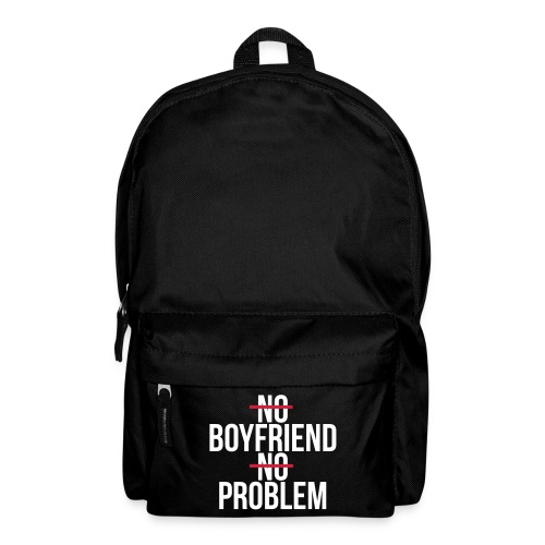 No boyfriend no problem - Mochila