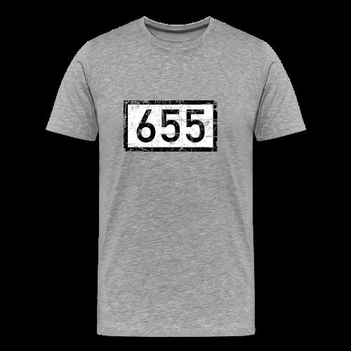 Rheinkilometer 655 Vintage Bonn T-Shirt (Herren) - Männer Premium T-Shirt