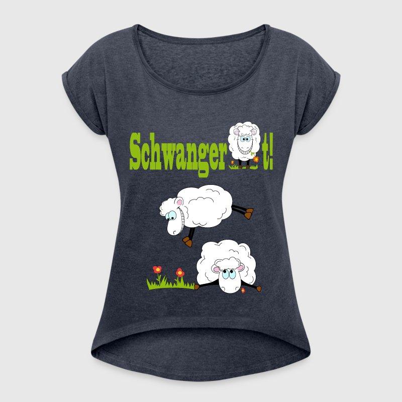 schwangerschaft schaf t shirt spreadshirt. Black Bedroom Furniture Sets. Home Design Ideas