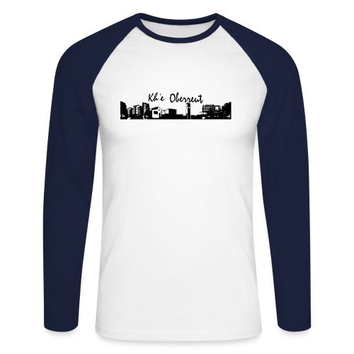 Kh´e Oberreut - Männer Baseballshirt langarm