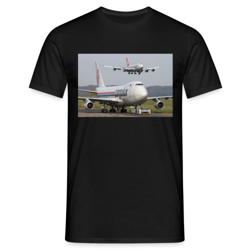 Double Cargolux without back - Men's T-Shirt