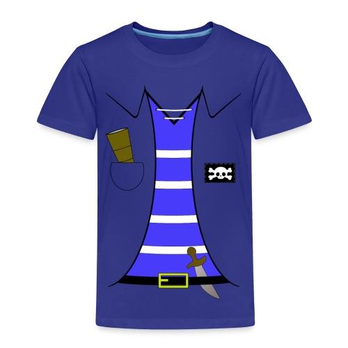 Pirat - Børne premium T-shirt