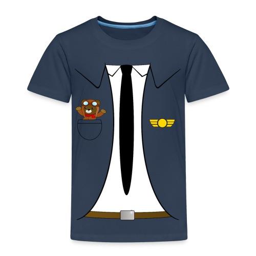 Pilot - Børne premium T-shirt