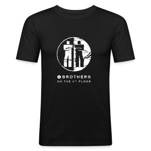 Black men Slim-fit shirt - Men's Slim Fit T-Shirt