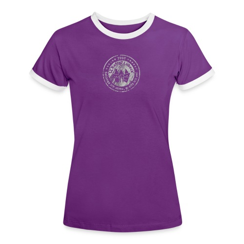 Support 12KHL - Frauen Kontrast-T-Shirt